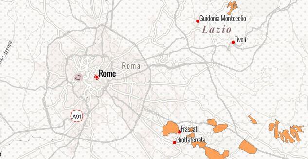 Cartina Roma E Provincia.La Mappa Delle Sospensioni Idriche Nella Provincia Di Roma Geosmartcampus